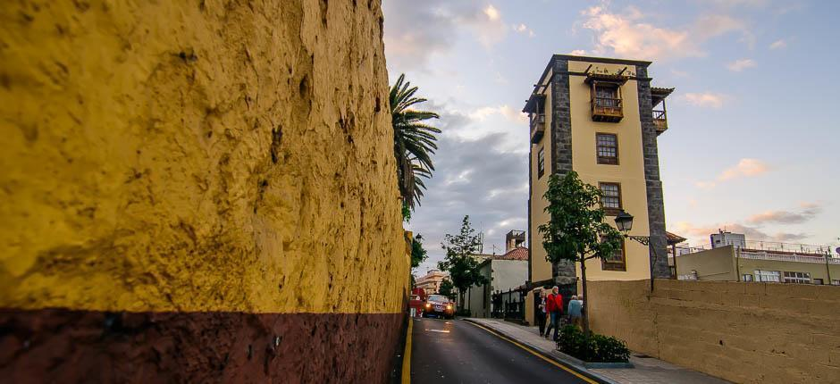 Puerto de la Cruz Old Town  + Historic quarters of Tenerife