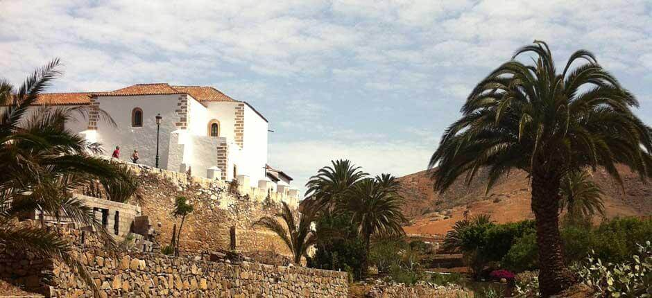 Betancuria Old Town. Historic quarters of Fuerteventura