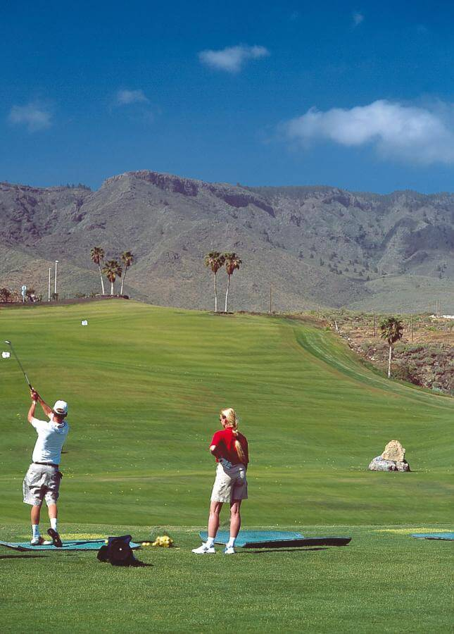 Tenerife. Golf Costa Adeje.