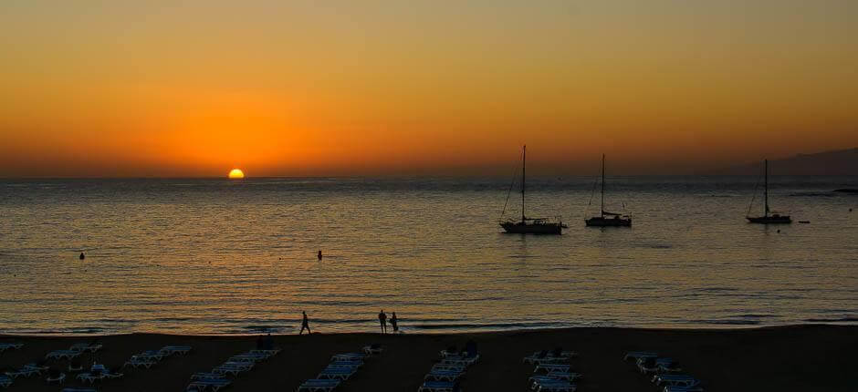 Las Vistas, Family beaches in Tenerife