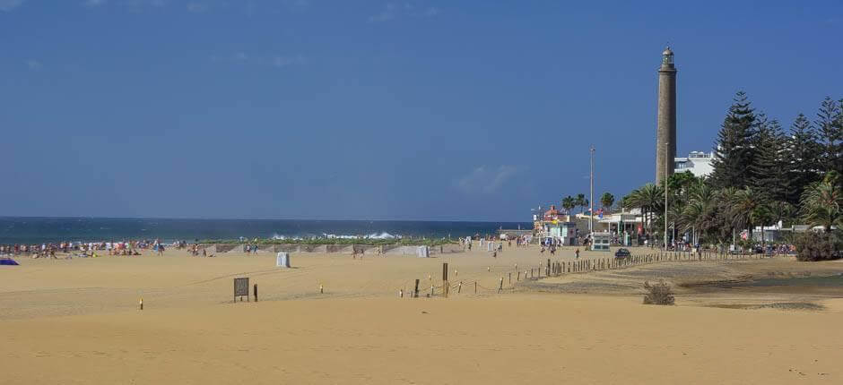 Maspalomas beach Popular beaches of Gran Canaria