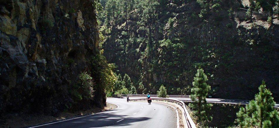 Cycling route in La Palma  + Cycling routes in La Palma